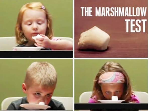 Sappiamo resistere al 'marshmallow'?